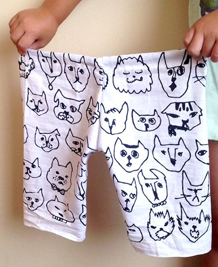 すぐ乾いて着心地も抜群! 3辺縫うだけの「てぬぐいズボン」の作り方<型紙付き>