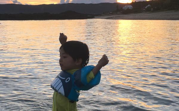 奄美大島、家族旅行