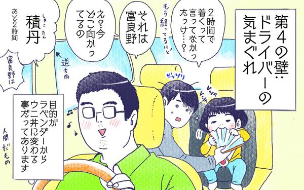 ムスメとドライブ【すくすくきろく@kita.acari 第14話】