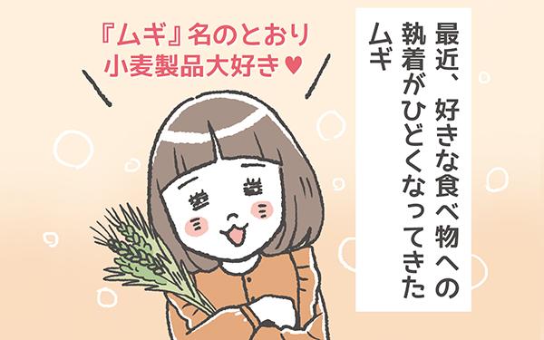 ムギ4歳「食」への果てなき愛!!