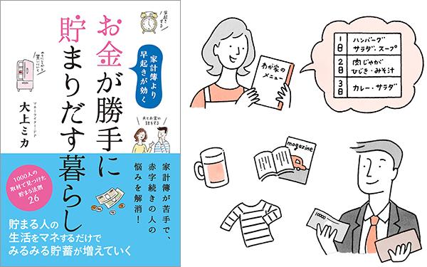 『お金が勝手に貯まりだす暮らし』大上 ミカ (著)/リベラル社