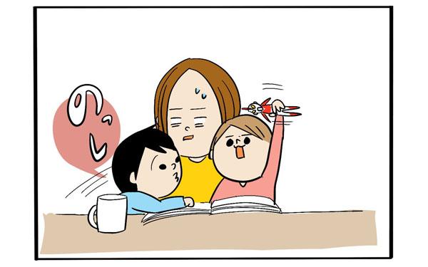 ママの一人時間はどこへ…やんちゃな子どもの理不尽な言動