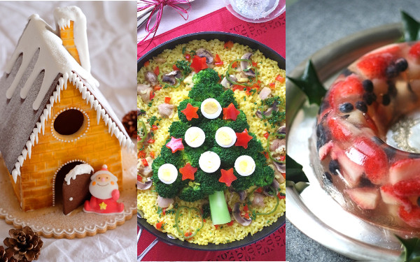 クリスマス、レシピ