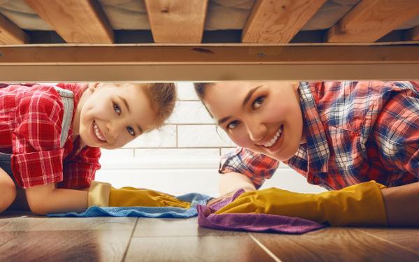 子どもの手も借りたい大掃除! 親子でやる気アップ大作戦