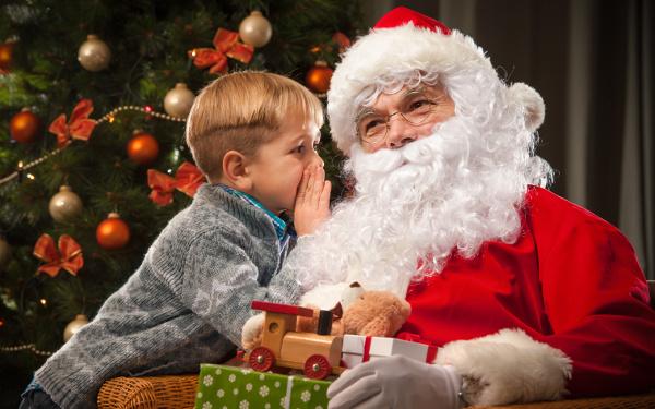 サンタクロース、クリスマス、プレゼント