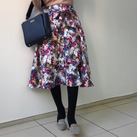 しまむら春のニット&スカートが優秀!  きちんと感漂う上品コーデ【しまりんごの毎日しまむらコーデ~アメブロトップブロガー~ Vol.18】