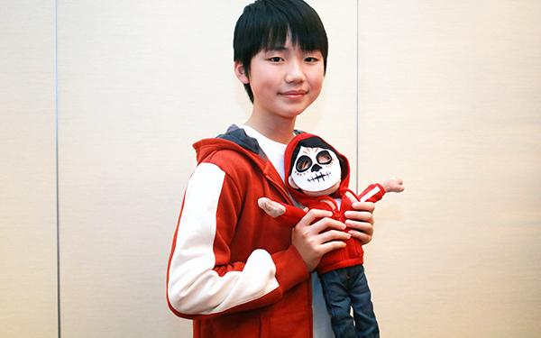 『リメンバー・ミー』石橋陽彩さん