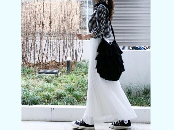 ホワイトカラーでまとめる!  ユニ女の大人スウィート着こなし術【ユニクロ大人コーデ~アメブロ30代ファッション1位 Hanaさん ~ Vol.23】