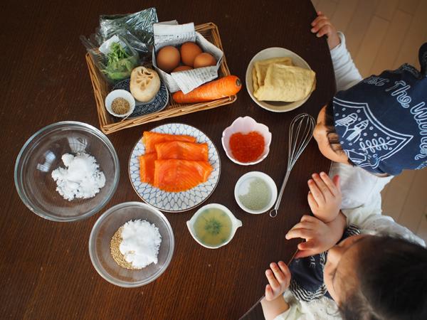 2歳から作れる「簡単ちらし寿司」のレシピ (親子の分担リスト付き)