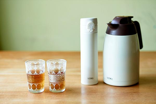 「水出し」ドリンクが簡単でおいしい! ひんやりキープは保冷水筒&ポットが便利
