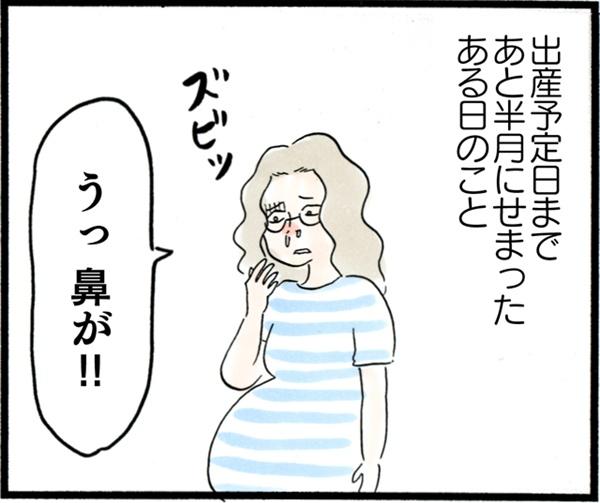 臨月にインフルエンザ陽性! 出産予定日直前の大ピンチ【荻並トシコのどーでもいいけど共感されたい! 第7話】