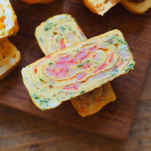 冷めてもふわふわ! 「基本の甘い卵焼き」の作り方【MAYAさんちのお弁当レシピ  Vol.2】