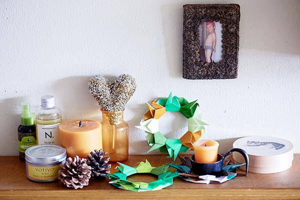 クリスマスリース&お正月飾りに! 簡単「折り紙リース」の作り方