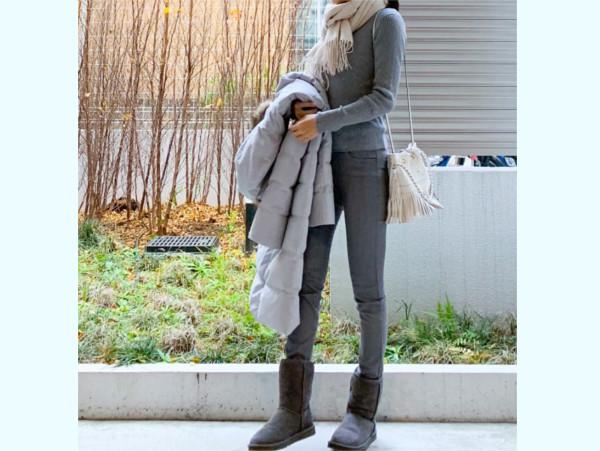 【ユニクロ】品良く見える「大人モノトーン」コーデ【ユニクロ大人コーデ~アメブロ30代ファッション1位 Hanaさん ~ Vol.42】