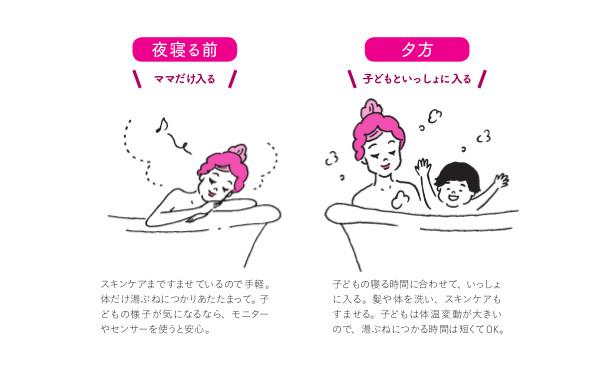 「ゆっくりお風呂につかりたい!」心も体も冷え冷えママに「分浴」のススメ【入浴のお悩み解決! 知っておきたい「お風呂の魔法」  第1回】