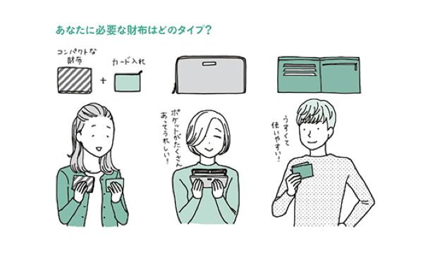 片づけはまず財布から? 「欲張らない、無理しない」が成功の秘訣
