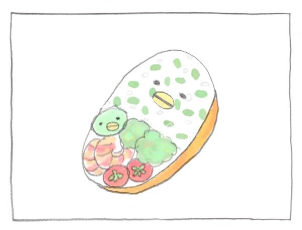 お弁当をラクに可愛くできるアイテム発見! 幼稚園児が喜ぶお弁当になった~