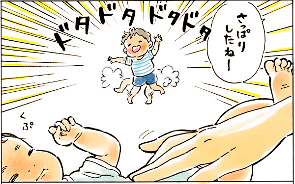 生後間もない赤ちゃんを上の子が…その瞬間「責める言葉」を飲み込んだ