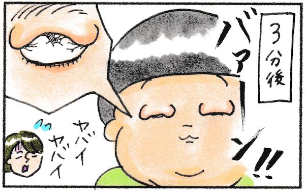 子ども アレルギー。息子の目がすごい腫れてしまった