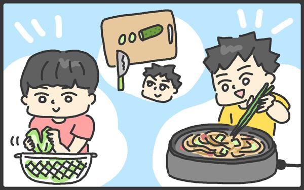 子どもたちが自分で作れる料理とは