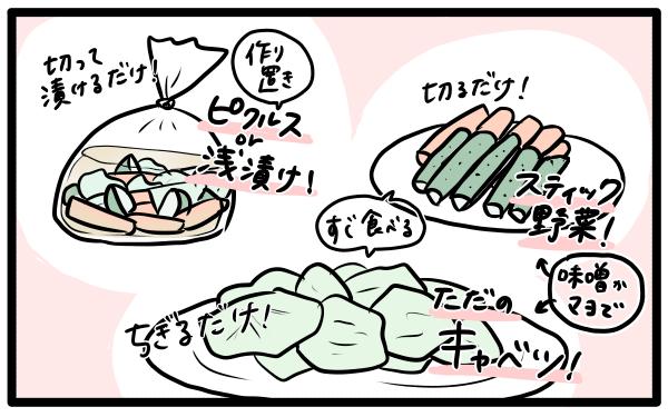 ズボラ飯 野菜レシピ 火を使わない料理