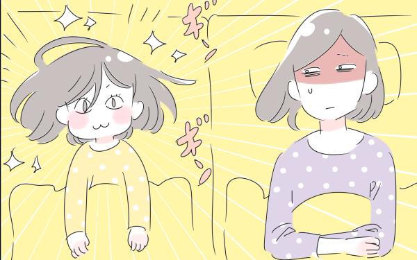 7歳の娘がなかなか寝てくれない~!(涙)わが家の寝かしつけ事情