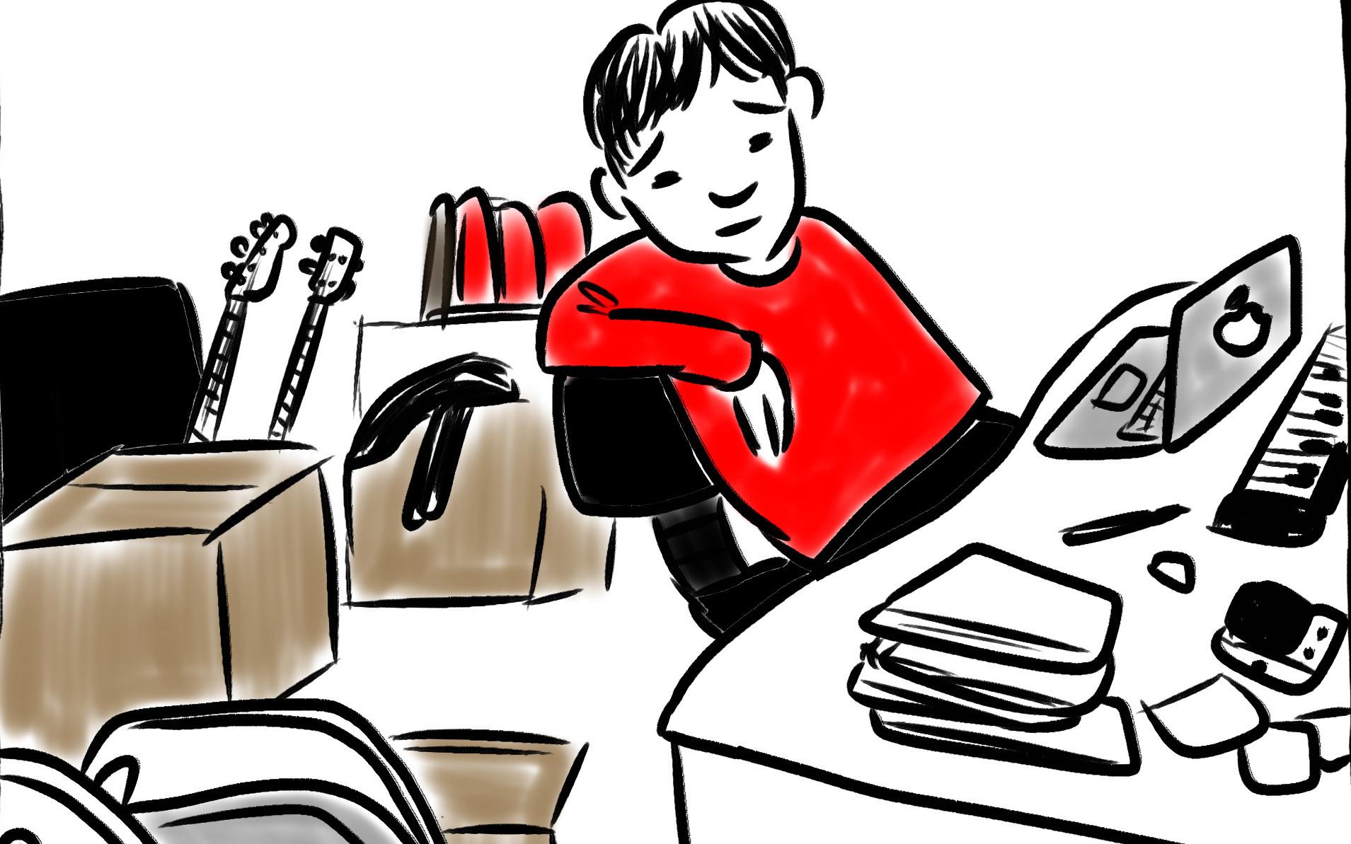 不要な子ども用品の行先はパパの部屋。物置化した部屋も子育ての楽しみ?
