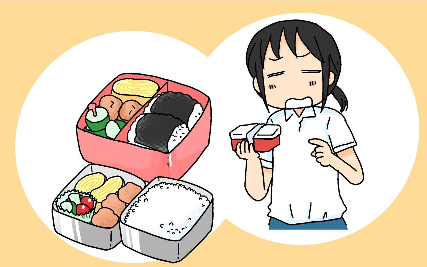 ご飯の量からおかずの種類まで…お弁当への注文が多すぎる高3長女との攻防劇