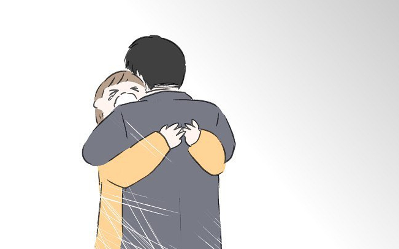 流産し泣く私を支えてくれたパパ、しかし家に帰ると…