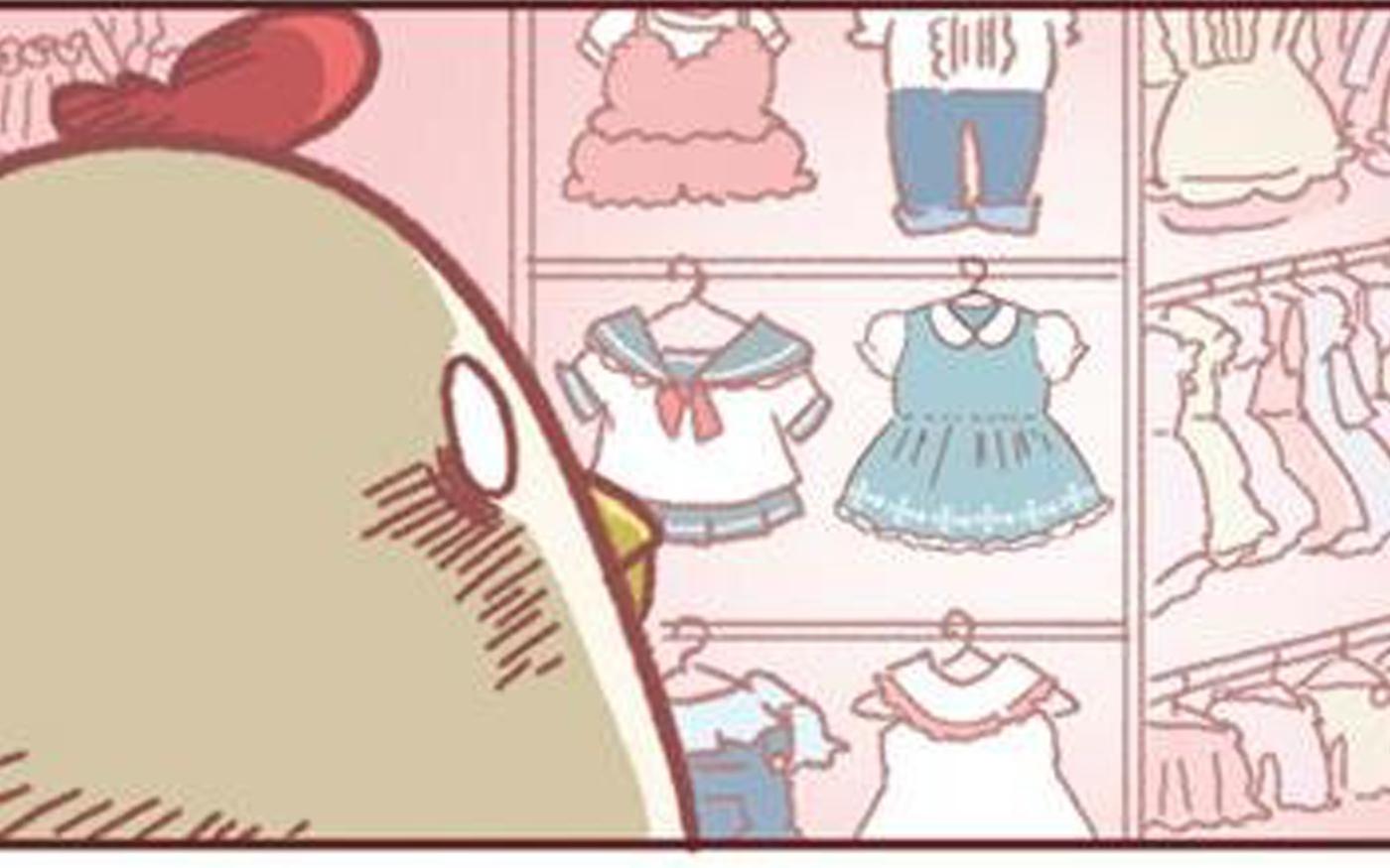 買いません、必要以上のお洋服は! って思ってたんですけど