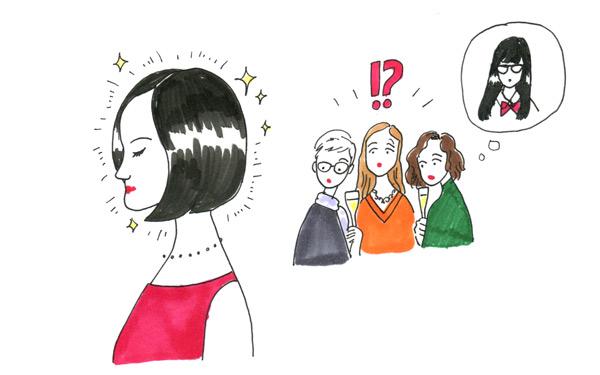 【軍地彩弓コラム#04】同窓会と髪