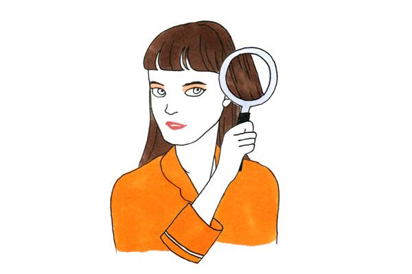【軍地彩弓コラム#10】自髪の女