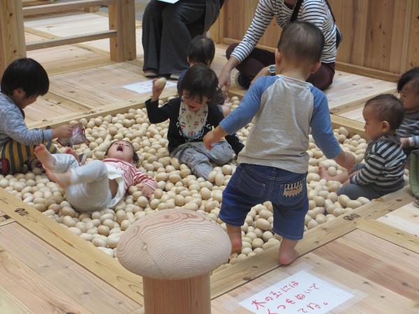 木のキッズスペースで思いっきり遊べる! 今週末は代官山で「奈良の木」の魅力にふれよう
