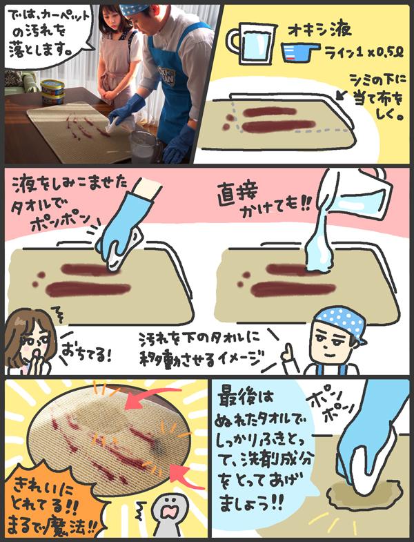 家事芸人の松橋周太呂さん直伝! SNSで話題の「オキシクリーン」を使った掃除術【メンズかーちゃん~うちのやんちゃで愛おしいおさるさんの物語~ 第29回】