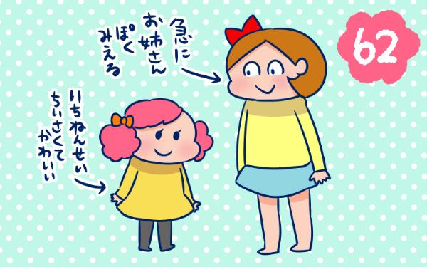 新一年生と比べると…【双子を授かっちゃいましたヨ☆ 第62話】