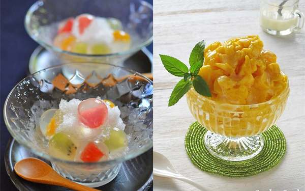 おうち「かき氷」がハイレベル! 味も見た目もうっとりの簡単アイディア集