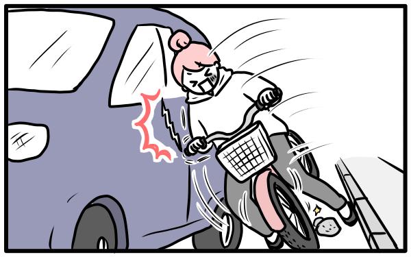 自転車事故から子どもを守るために! ママパパ調査からみる対策とは?【モチコの親バカ&ツッコミ育児 第52話】