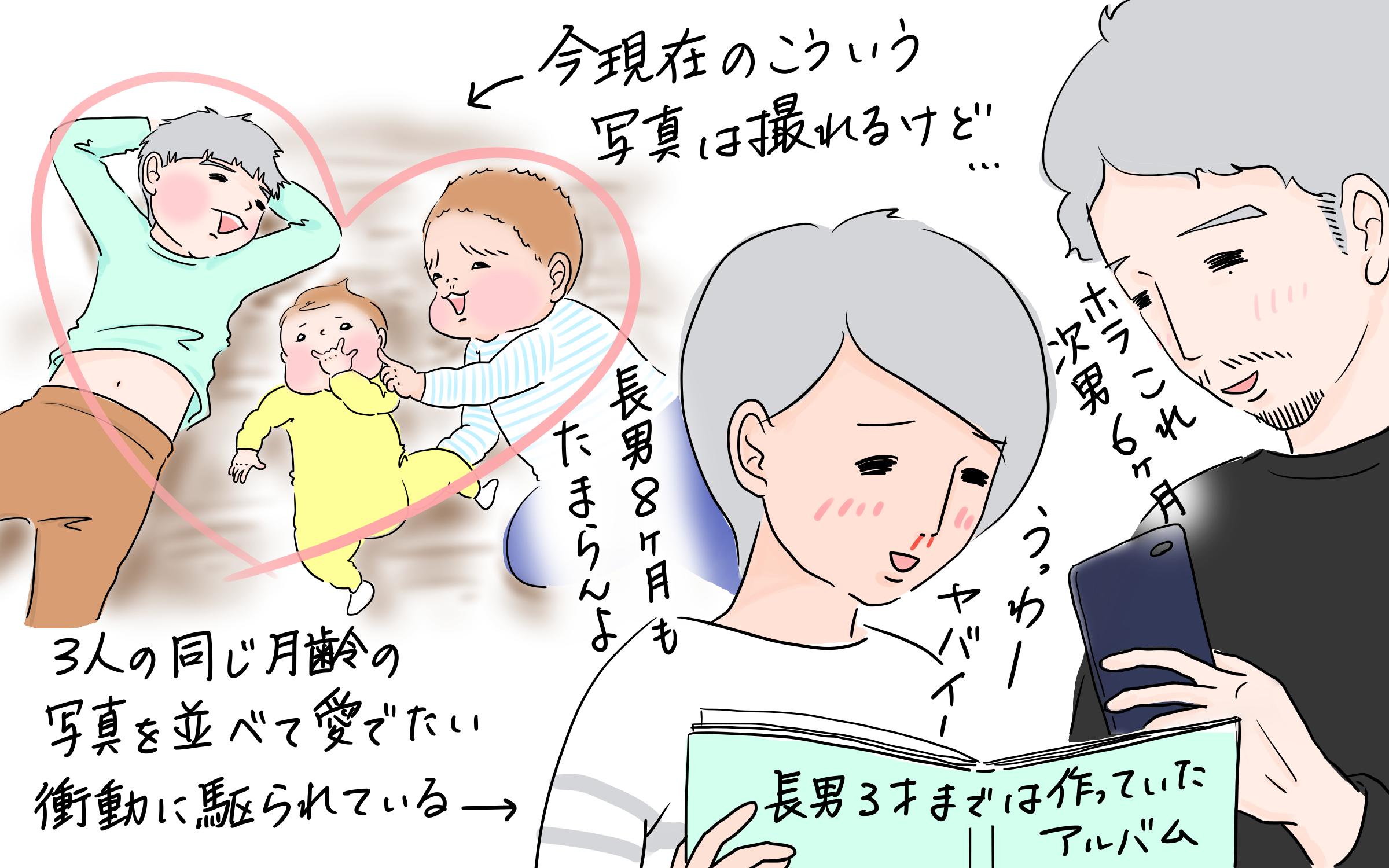 子どもの成長をまとめて整理できた!?   tomekkoが作る技ありフォトブック