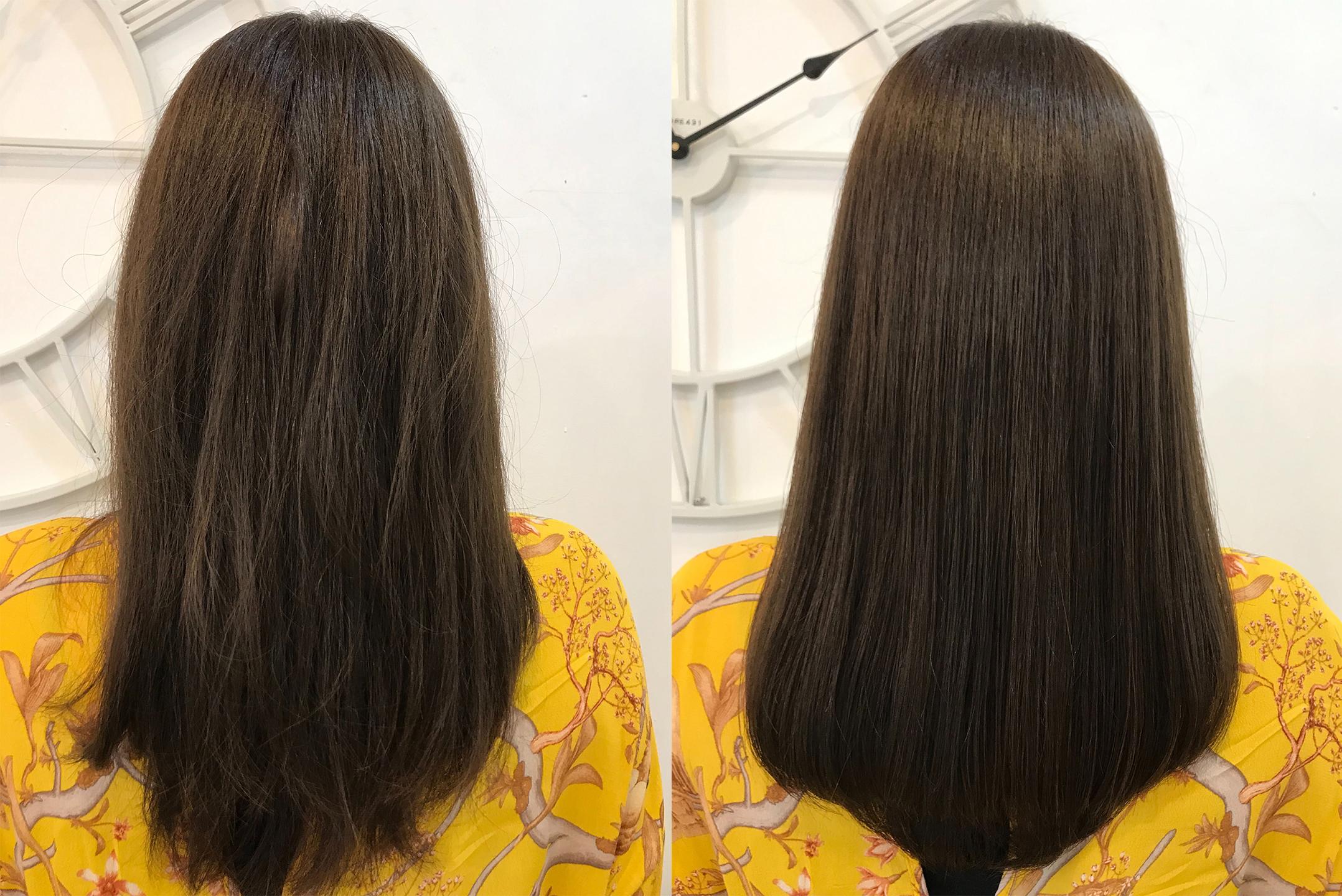 白髪が増えてゴワつく髪、黒髪シャンプーでマイナス5歳のうるツヤ髪へ