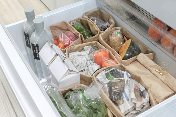 冷蔵庫の収納方法