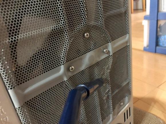 暖房器具 掃除12