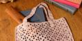 添削指導つき お買いものバッグとラリエットが作れるかぎ針編みキット