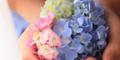 「かんたんキット」で押し花&コラージュ