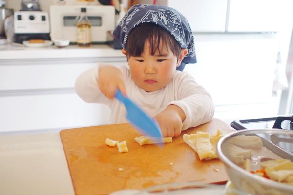 子どもに料理を教えたい!