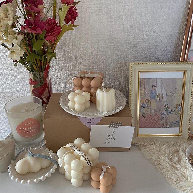 かわいい韓国キャンドルのお店3選を紹介♡飾り方アイディア7つでおしゃれなインテリアに!の2枚目のインスタグラム画像