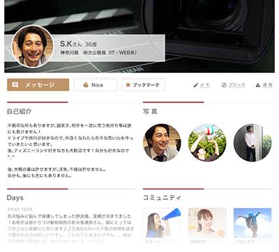 プロフィールサンプルイメージ