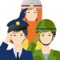 自衛隊・消防士・警察官の会員