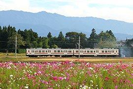 長野県飯島町の風景